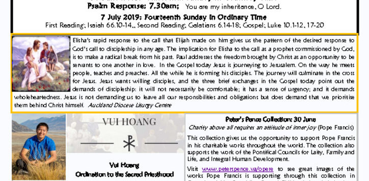 Newsletters Archives - Page 2 of 27 - Cathedral of the Holy
